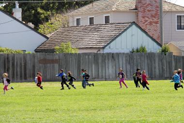 Kids run for JUST RUN